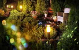 Comment éclairer votre jardin