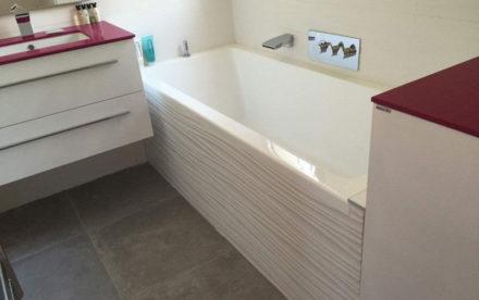 Baignoire de salle de bains