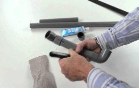 Installer un tuyau en PVC