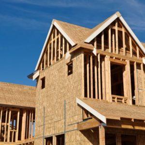 maison avec ossature en bois