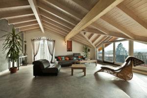 Décoration intérieure en bois