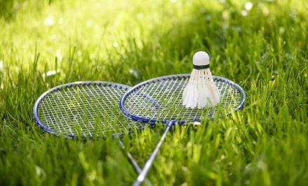 badminton à l'extérieur