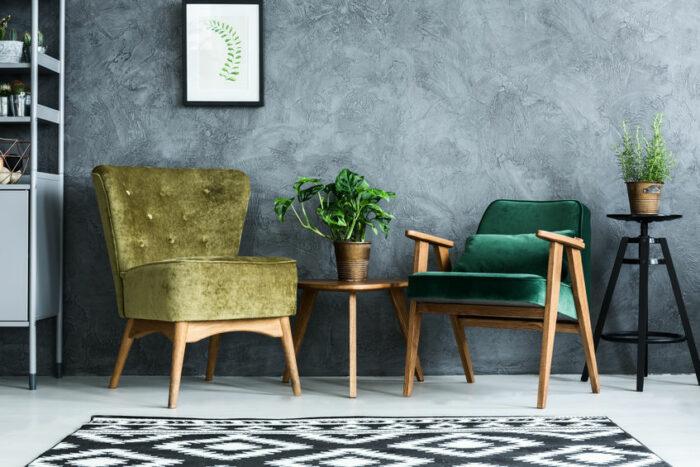 Rembourrage de fauteuil pour décoration