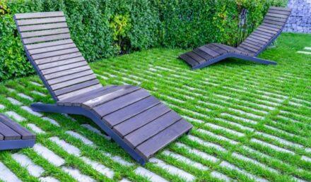 chaise longue pour jardin