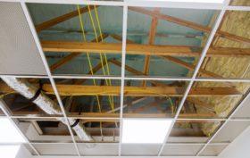 pose faux plafond