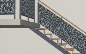 dessiner escalier