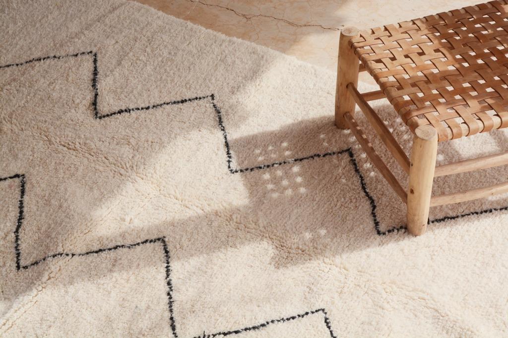 différents tapis berbères