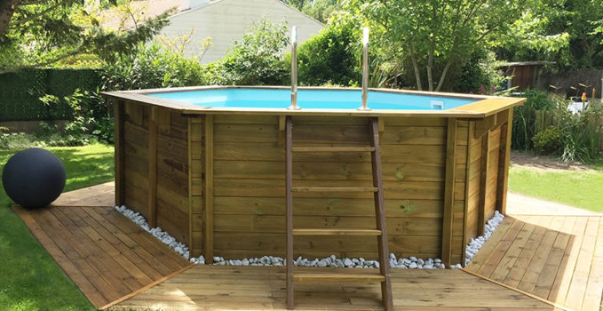 habillage piscine hors sol