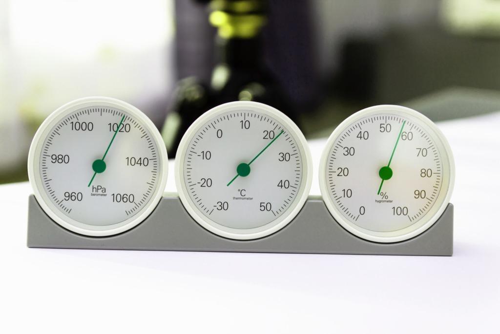 hygromètre air