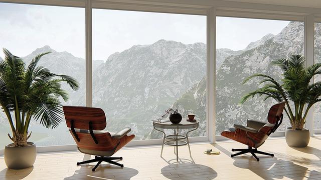 l'intérieur d'une maison moderne