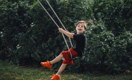 jeu extérieur enfant
