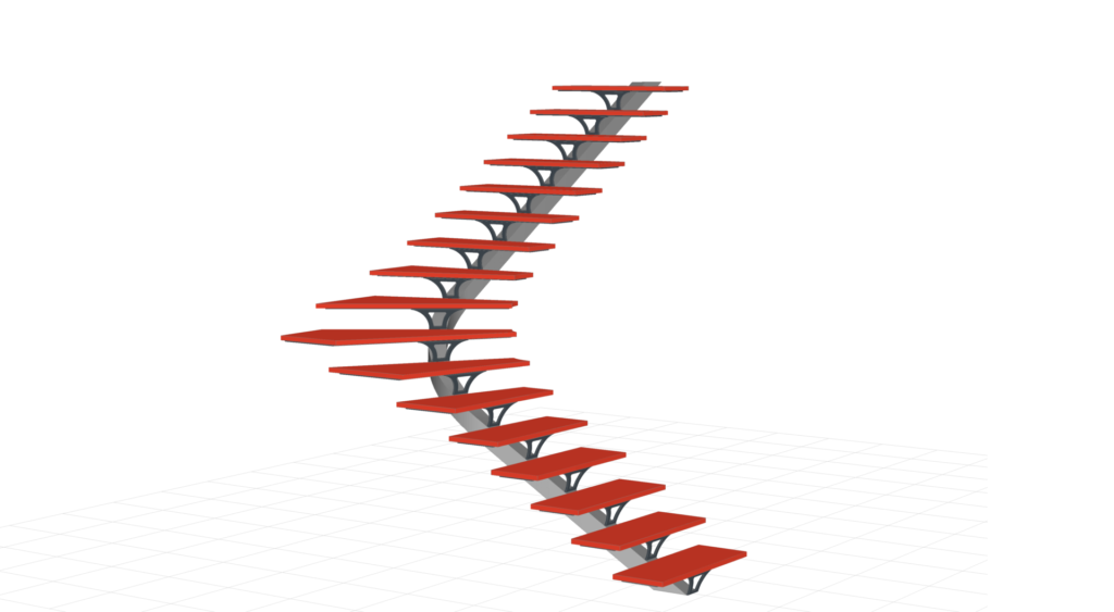 logiciel de dessin escalier