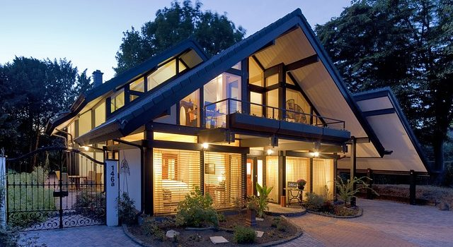 Une maison moderne plus lumineuse