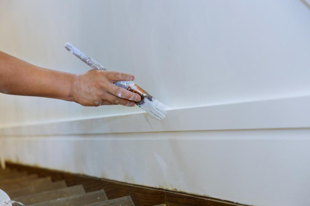 peinture vernis escalier