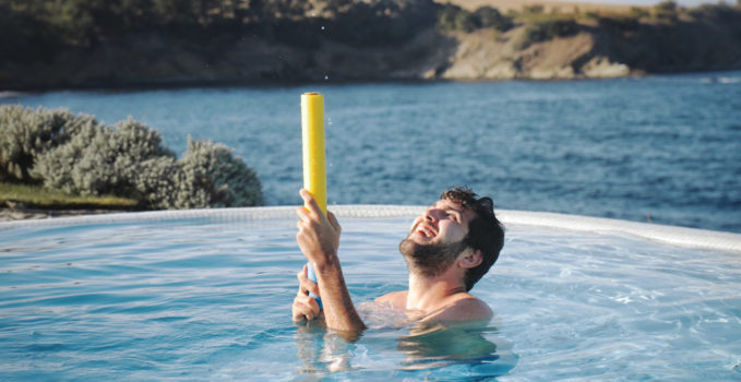 piscine sel de mer
