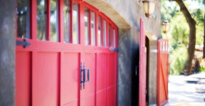 porte de garage selectionnelle