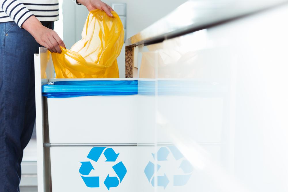 poubelle sous évier