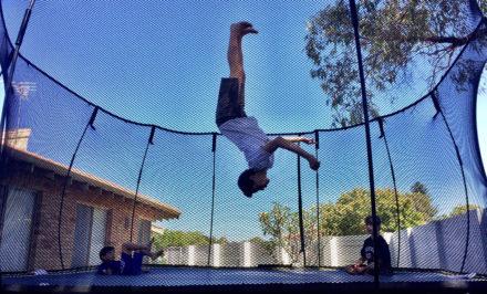 ressort trampoline