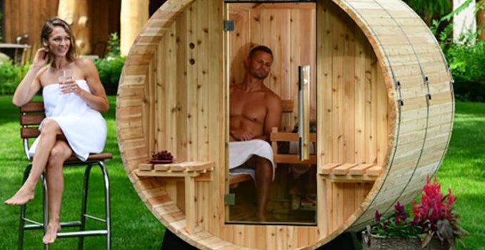 sauna extérieur