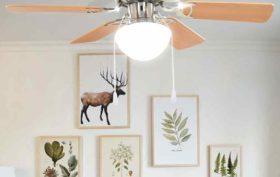 ventilateur de plafond de maison