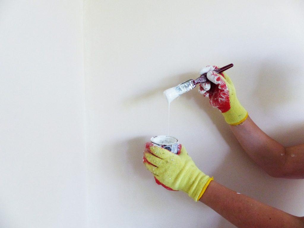 technique pour peindre un mur